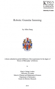 robotic granular jamming thesis cover
